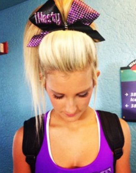 Cheerleader Hairstyles Inspiration 188 Best Cheer Hair Images On Pinterest  Cheer Hairstyles