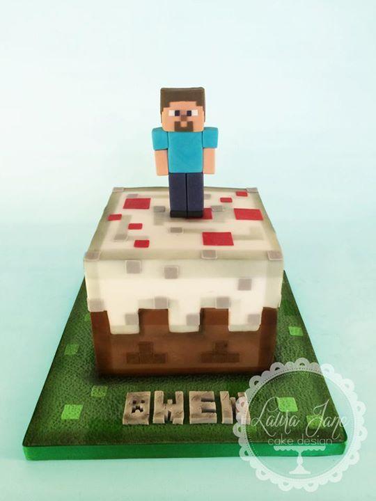 Minecraft cake Minecraft Cakes Pinterest Photos