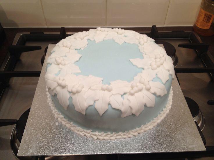Wedgewood Christmas cake.