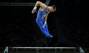 Great Britain's men's gymnastics team have cleared the first hurdle in their search for an Olympic medal, after securing a place in the final with Max Whitlock and Louis Smith leading the way