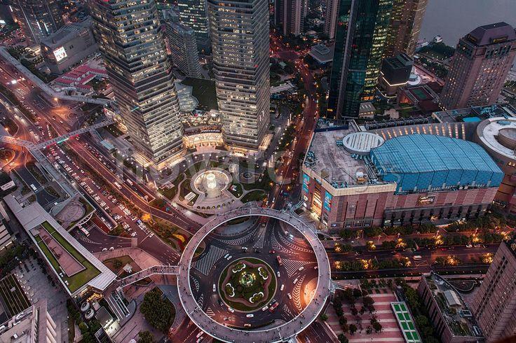 IFC, SWFC, Jin Mao Tower, Shanghai, China