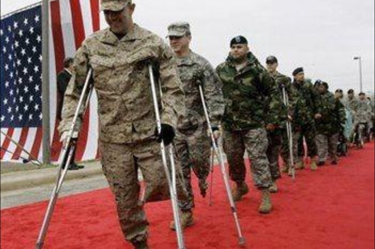 Dating site for wounded soldiers