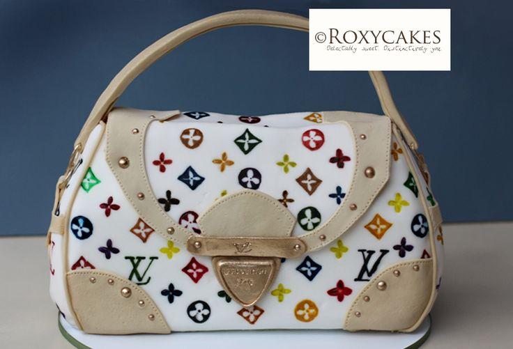 Cake Louis Vuitton Pinterest : 17 Best images about Louis Vuitton bag cake on Pinterest ...