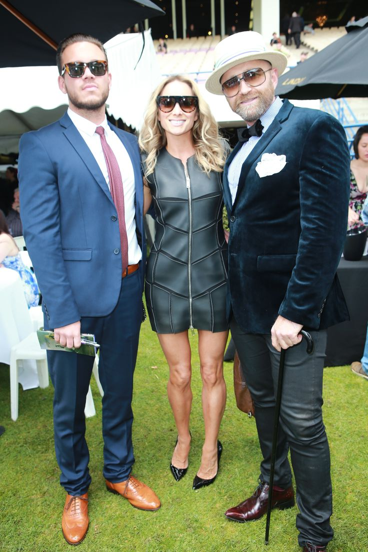 Doesn't this trio look fab! Men can be fashionable too- especially on a race day!