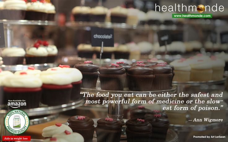"""""""The food you #eat can be either the safest and most powerful form of #medicine or the slowest form of poison. ~ Ann Wigmore  https://www.artlorsean.com/branding"""