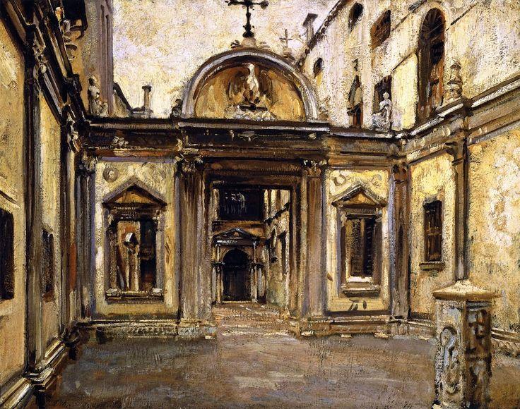 John Singer Sargent Hagia Sophia