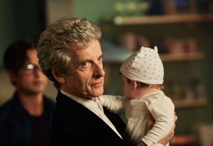 The Doctor, The Return of Doctor Mysterio - the doctor always melts my heart with a baby in his arms! :)