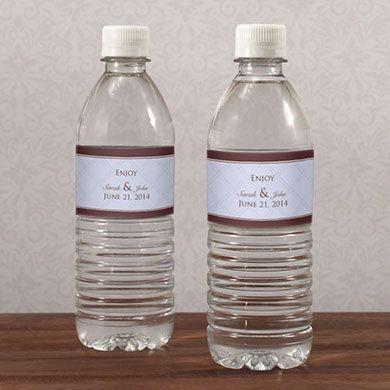 Victorian Water Bottle Label