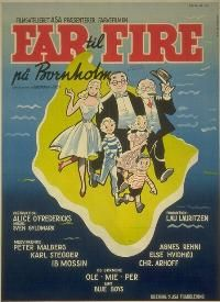 Far til fire på Bornholm (1959) familien tager på ferie til Bornholm.