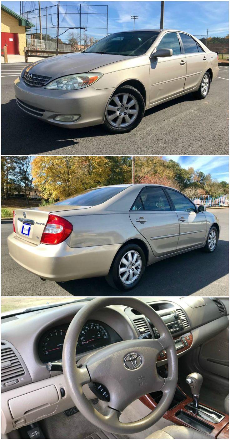 2003 Toyota Camry - $4,500
