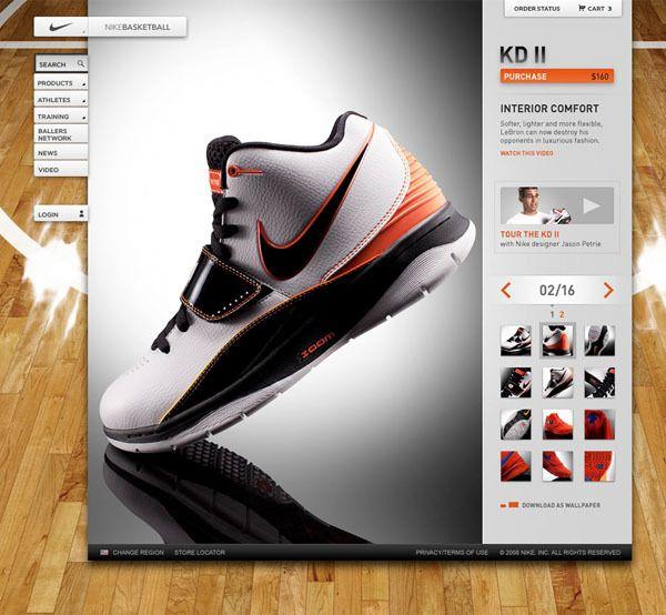 Nike Basketball Sneaker Feature by Rasmus Wangelin, via Behance