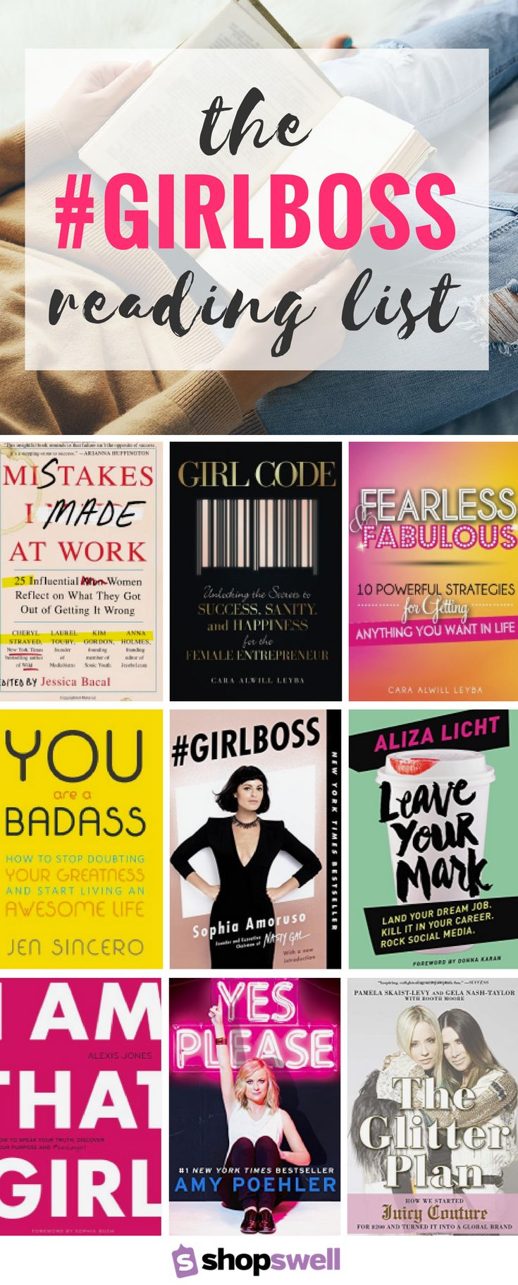 Written by strong women, these books will inspire you to never give up on your daydream and kill it in your career. #GirlBoss