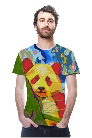 By valeria polledro, OArtTee specializes in creating amazing, vibrant and colorful Wearable Art #OArtTee