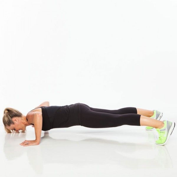 Circuit 3: Lateral Stepping Pushup