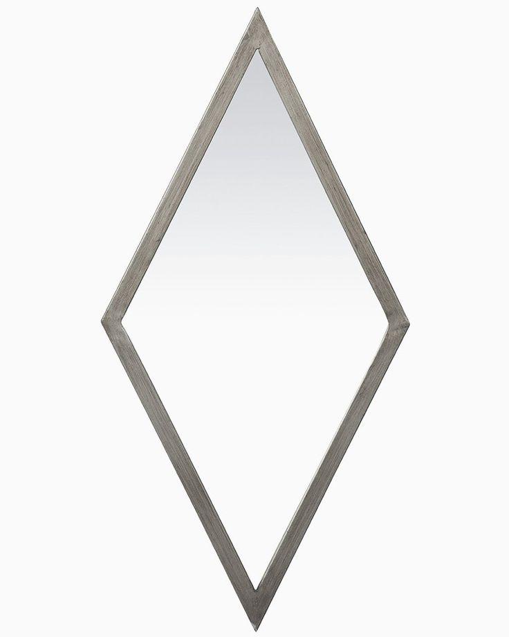 mirrordeco.com — Gatsby Wall Mirror - Diamond Shaped Frame  H:69cm