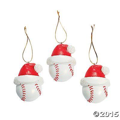 Baseball Christmas Ornaments
