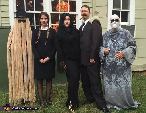 The Addams Family Halloween Costume