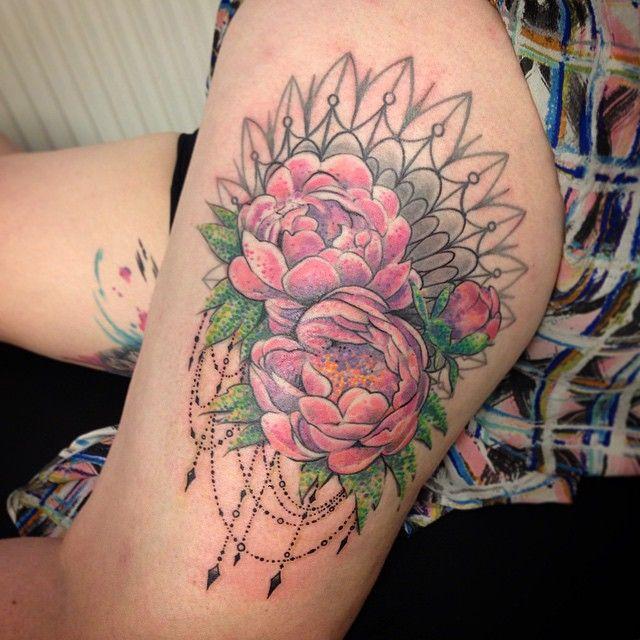 1000 Ideas About Peonies Tattoo On Pinterest: 22 Best Peony Flower Tattoo Images On Pinterest