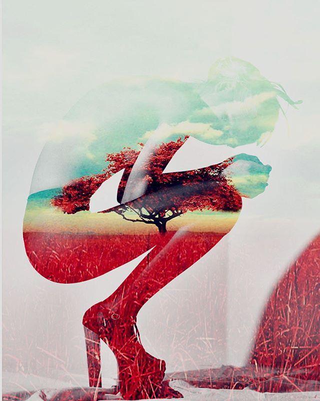 #doubleexposure #ps #photoshop #digitalart #woman