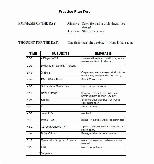 Youth Football Practice Schedule Template New 13 Practice Schedule Templates Word Excel Pdf Basketball Practice Plans Soccer Practice Plans Schedule Template