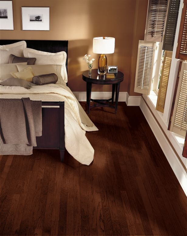 Engineered Hardwood Basement Part - 15: Hickory - Molasses Hardwood E3685