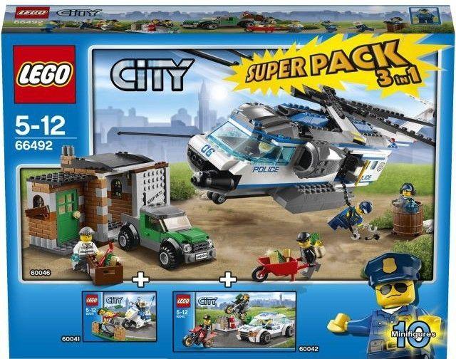 Lego City 66492 Policie - 0