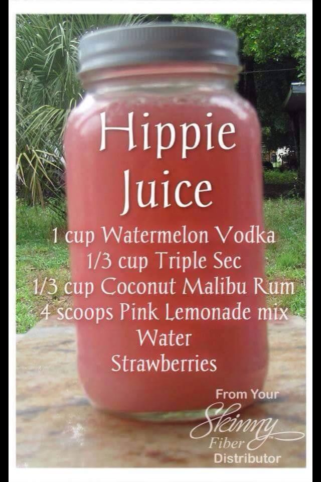 Definite music festival drink!