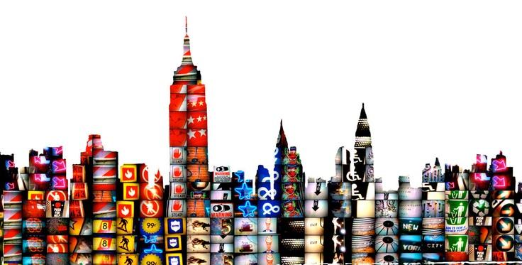 Linda Zacks mixed media http://www.lindazacks.com/  #art #landscape