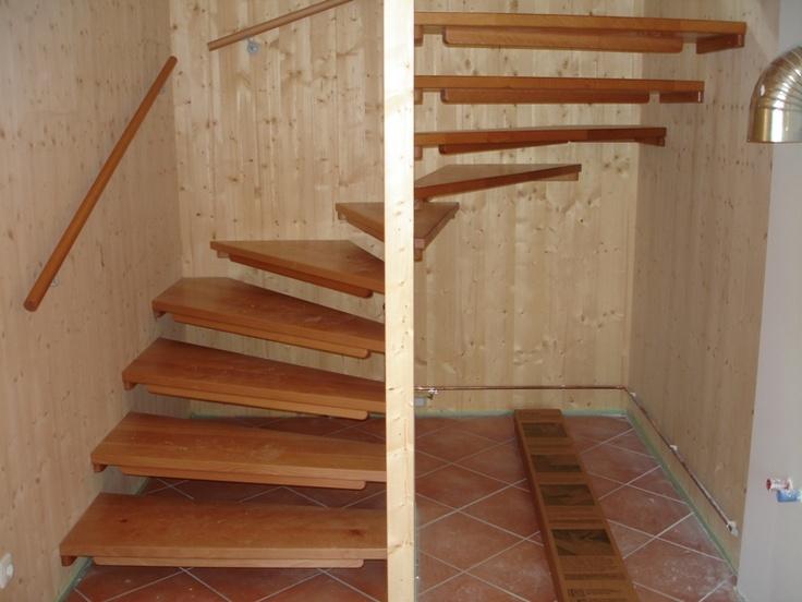 scale a chiocciola #legno