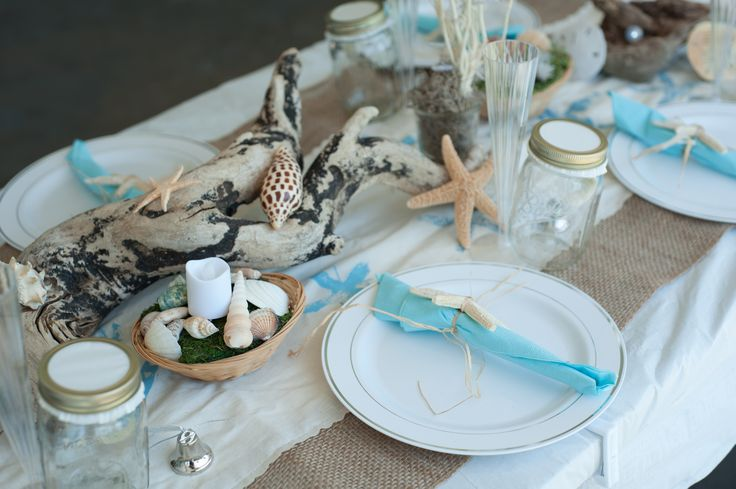 26 Best Beach Themed Tables Images On Pinterest