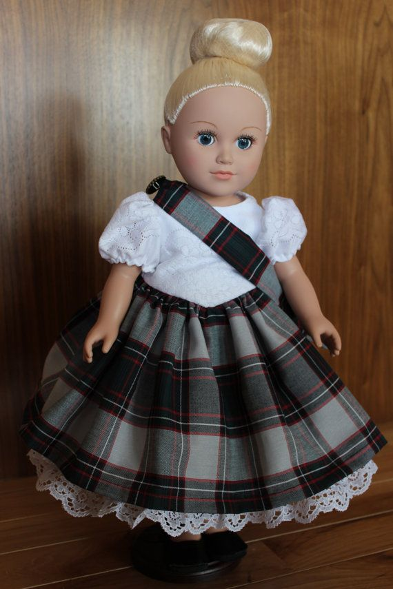 American Girl doll Scottish highland dance by ButterflyCastle