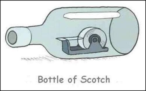 Bottle of Scotch: Funny Funny, Funny Image, Funny Pics, Facebook Funny, Funny Pictures, Fun Stuff, Giggles, Funny Stuff, Finding Funny