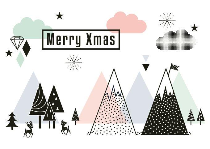 Christmastcard designed by @MissHoneyBird; seen on HappyMakersBlog.com