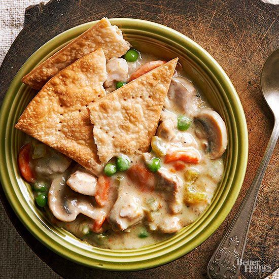 Warm and cozy chicken pot pie doesn't have to be tedious.