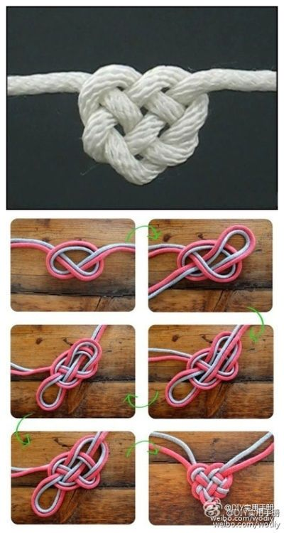 Love knot I wanna learn how to do this... - rugged life
