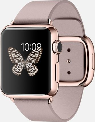 Ridiculously expensive but still pretty to look at. || Apple Watch in Pink and Rose Gold #AppleWatch #Pink #RoseGold