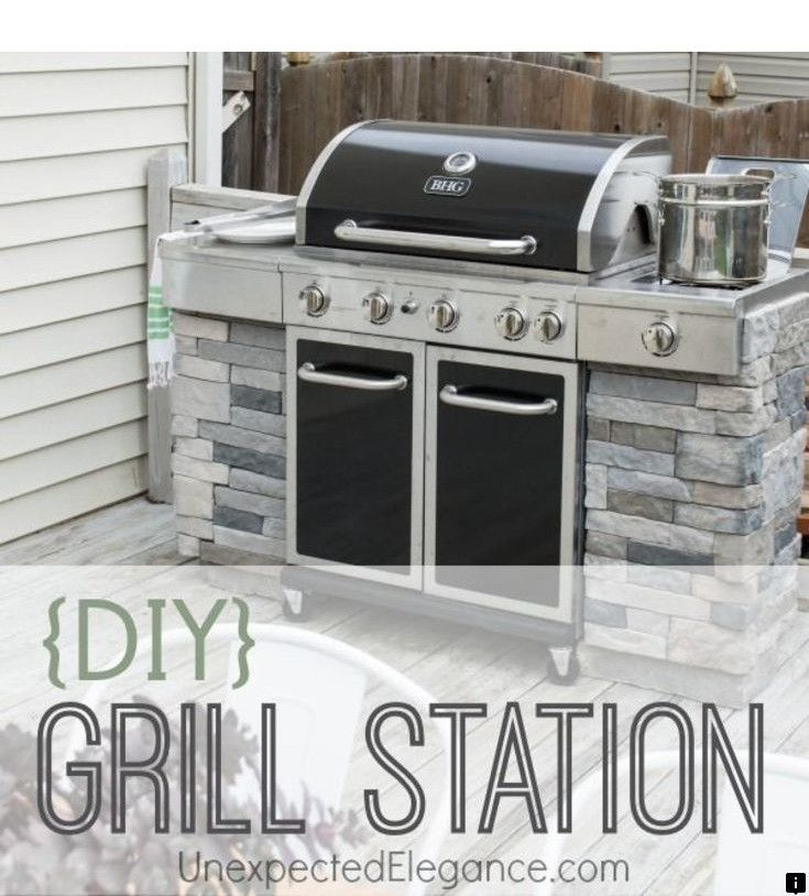 Go To The Webpage To Learn More On Outdoor Kitchens Houston Simply Click Here To Find Out More Our Web I Diy Grill Diy Grill Station Outdoor Grill Station