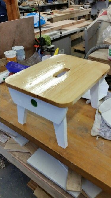 Step Stool crafted by Peter
