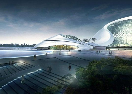 MAD Architects' Glacial Structure Blends in to the Icy Surroundings of Northern China | Inhabitat - Sustainable Design Innovation, Eco Archi...