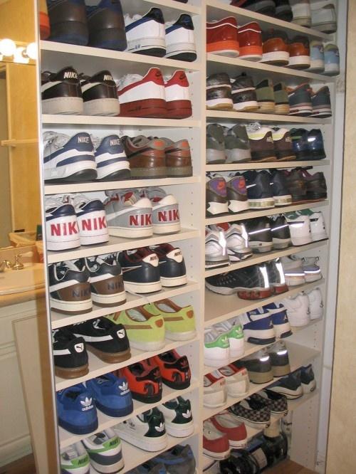 Men's sneaker fetish