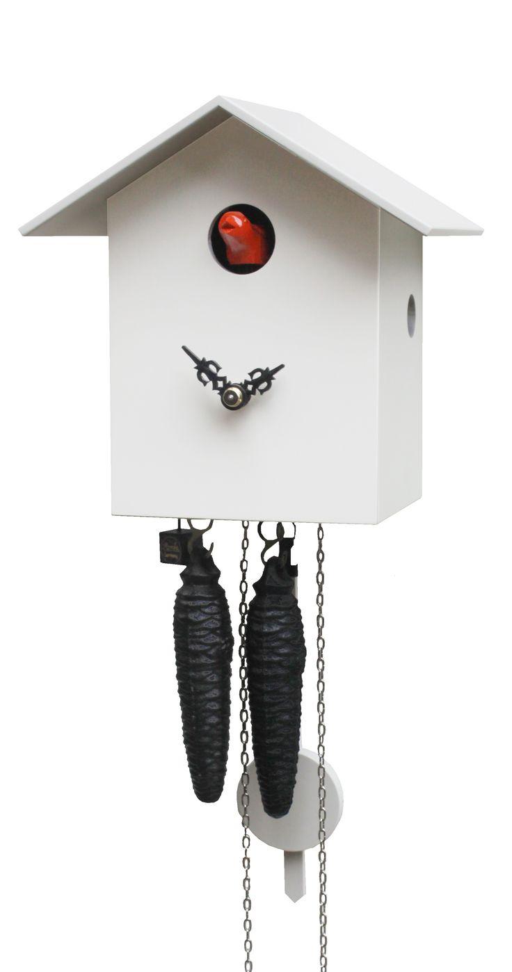 Modern cuckoo clock<br>1 day running time