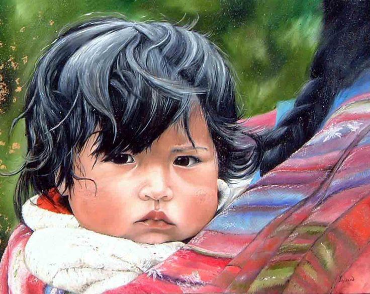 """Reproduction """"La petite péruvienne"""" Site : http://www.lysandcreations.com/boutique/liste_rayons.cfm?"""
