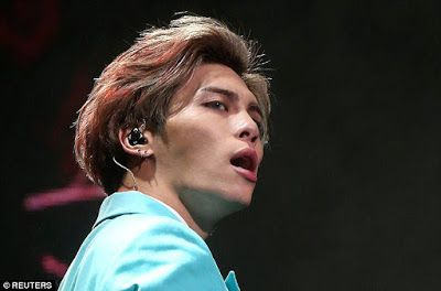 The lead singer of top South Korean boy band, SHINee, died in  hospital on Monday in a possible suicide attempt that shocked their fans  ...