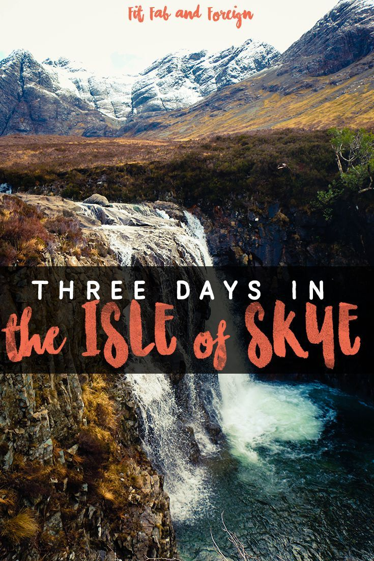 the perfect Isle of Skye, Scotland itinerary to see the Fairy Pools, Neist Point, the Old Man of Storr and everything in between!