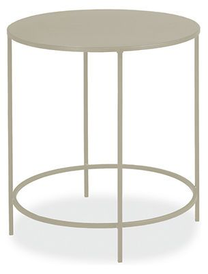 Slim Round End Tables in Colors - End Tables - Living - Room & Board