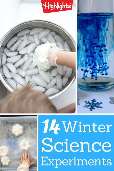 Explore these cold weather science experiments with your kiddos to teach concepts of states of matter, simple chemical reactions, and learn about the environment.