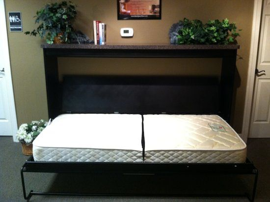 257 best images about bakers tiny house on pinterest 5th for Small room murphy bed