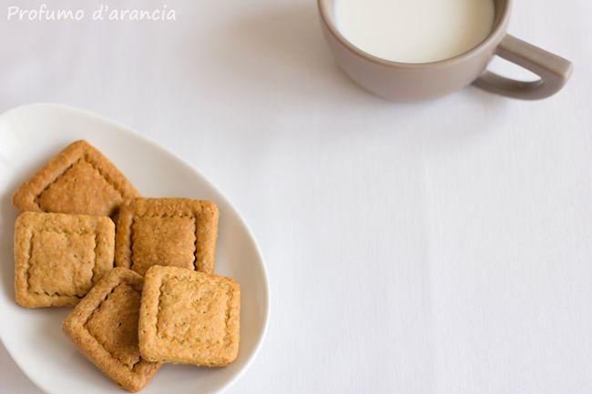 profumo d'arancia: Biscotti secchi con sciroppo d'acero