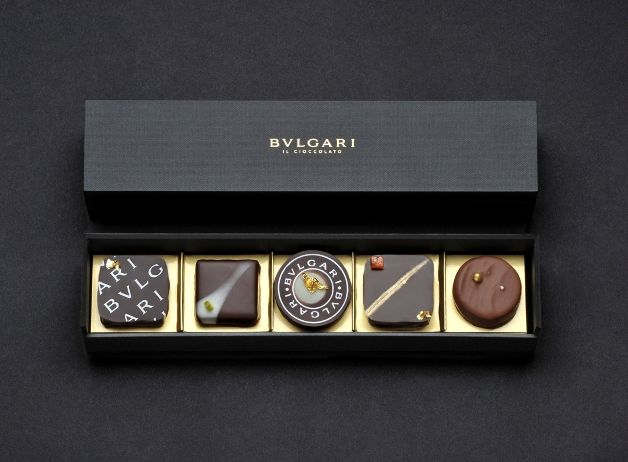 These BVLGARI chocolates are priced at 5000 Japanese Yen (about $61.00).  Would you pay that much for chocolate?