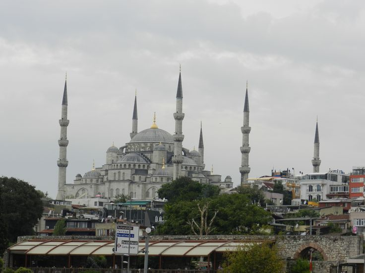 Sultan Ahmed Mosque from The Bosporus